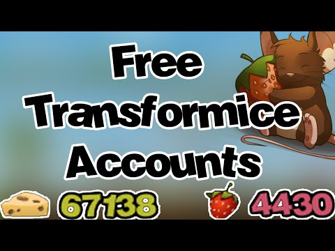 8 FREE PRO TRANSFORMICE ACCOUNTS APRIL 2016