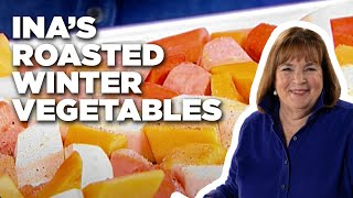 Ina's Roasted Winter Vegetables | Food Network