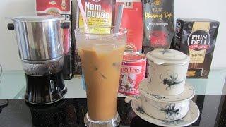 Вьетнамский кофе Как заваривать! Вьетнам Кофе-фильтр приготовить кофе по-вьетнамски
