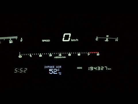 Toyota Soarer CAN Display In Dash Haltech Elite 2500
