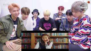 BTS reaction twice what is love?