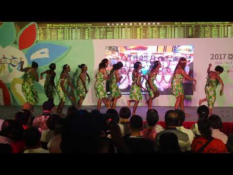 2017 ASIA PACIFIC CULTURAL DAY, SISAT Girls performance