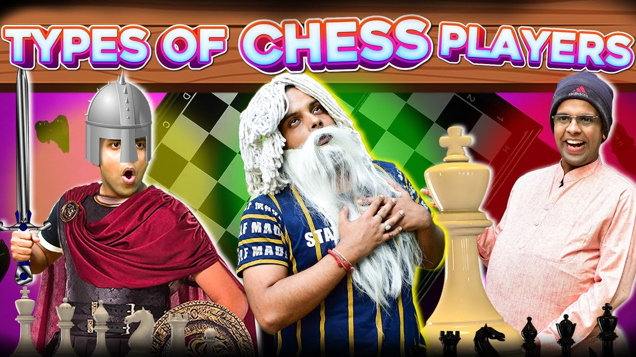 Types of CHESS Players | The Half-Ticket Shows