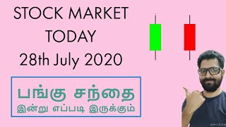 BREAKOUT STOCKS | STOCK MARKET TODAY 28th July 2020| Tamil Share | Intraday Trading Strategy