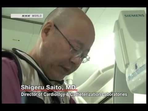 Angiography procedure in Japan