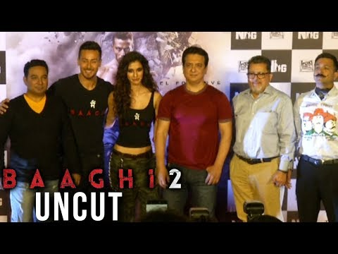 Baaghi 2 Trailer Launch Event |  Tiger Shroff Disha Patani | Uncut