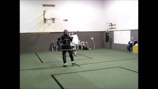 Steven vs Duane Halberd Sword Shield