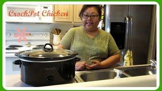 Crockpot Chicken Potato and Mushroom