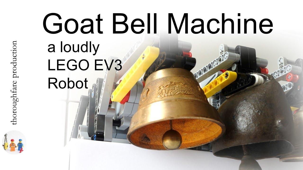 Lego Mindstorms Ev3 Goat Bell Machine Youtube