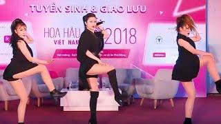 👠 Đông Nhi cực đẹp, rạng rỡ không thua kém hoa hậu khi live Xin Anh Đừng, Bad Boy, Cô Ba Sài Gòn