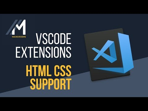 VSCode Extensions - HTML CSS Support