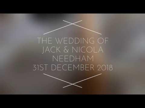 Wedding Of Jack & Nicola Needham - 31st December 2018