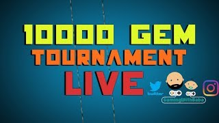 Second Place In 10 000 Gem Tournament LIVE!!  - Clash Royale