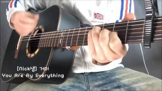 [Nick샘] (태양의후예ost) 거미_you are my everything guitar cover