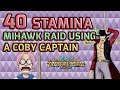 Walkthrough for Mihawk 40 Using A Coby Captain [One Piece Treasure Cruise]