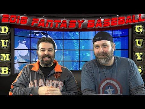 2018 Fantasy Baseball ESPN Points League Draft Recap