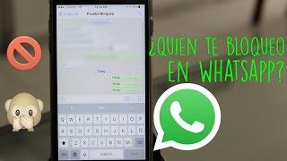 Truco | Descubre Si Te Bloquearon en Whatsapp thumbnail