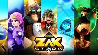 ZAK STORM ⚔️ Rencontre l'équipage - Compilation ⚡️