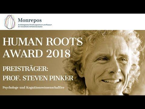 Human Roots Award 2018: Aufklärung Jetzt. Vortrag von Preisträger Steven Pinker