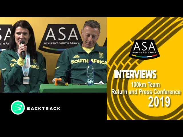 ASA 100km Team Return and Press Conference