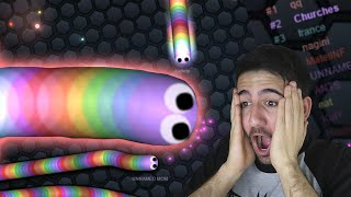 Como LLEGAR AL TOP en el PRIMER INTENTO !! OMG | Slither.io - ElChurches thumbnail