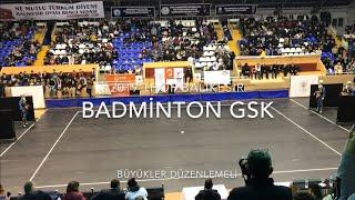 Gambar cover Badminton GSK | Büyükler Düzenlemeli | 2019 THOF Balıkesir #Zeybekoloji