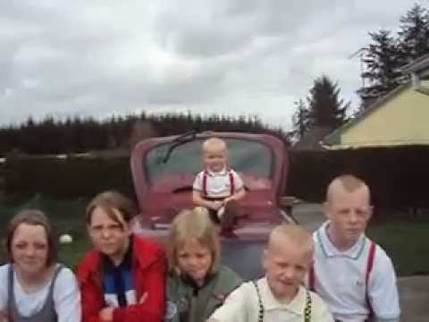 My gang dancing to Evil Conduct, Skinhead till i die.