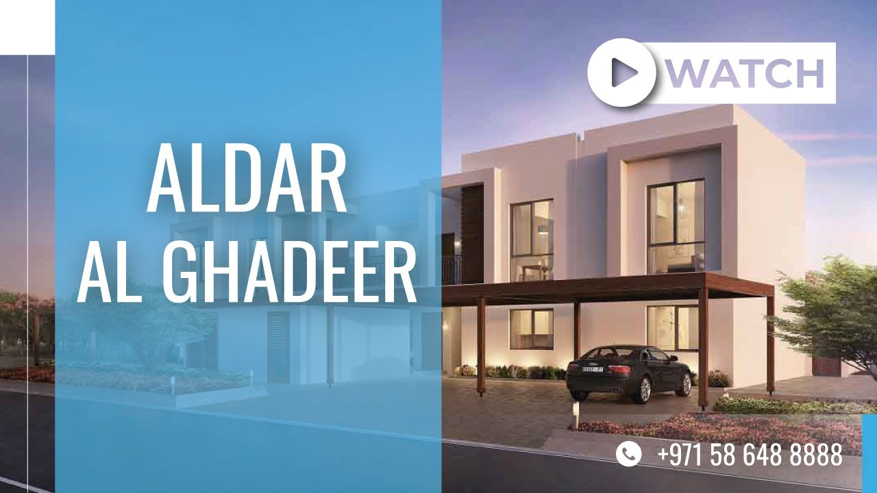Overview of Aldar Al Ghadeer in Abu Dhabi