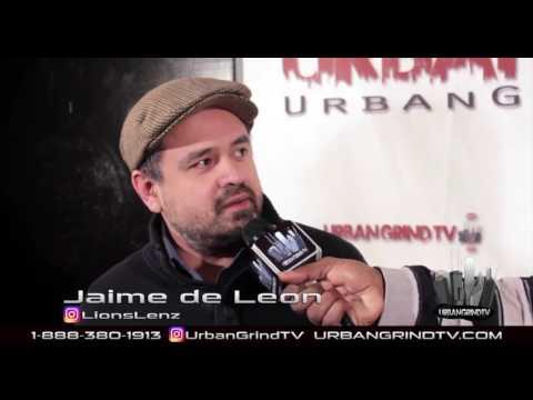 Comedian Jaime de Leon @LionsLenz talks about his start in comedy @UrbanGrindTV