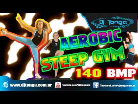 MUSICA Para Clases de GYM STEP AEROBICS BODY PUMP MIX 140 BPM