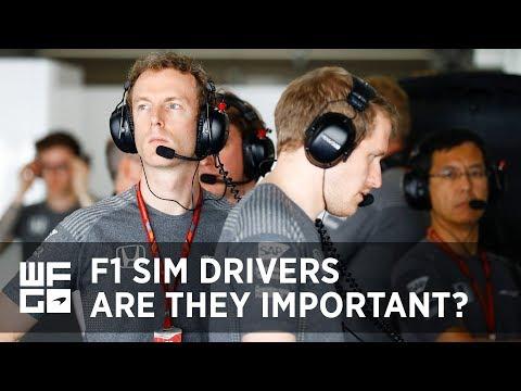 WFG | The Importance of a  Formula 1 Simulator Driver