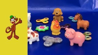 Learn Farm Animals 🐥 Learn Colors 🐷 Fidget Spinners 🎼 Nursery Rhymes 🐴 Learning for Kids