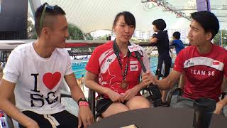 SEA Games 2017 TeamSG Exclusive Interview: Roanne Ho (Swimming)