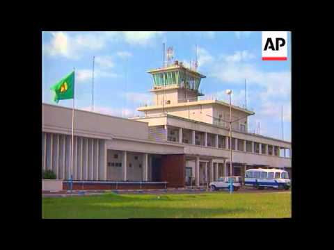 Zaire - President Mobutu leaves Kinshasa