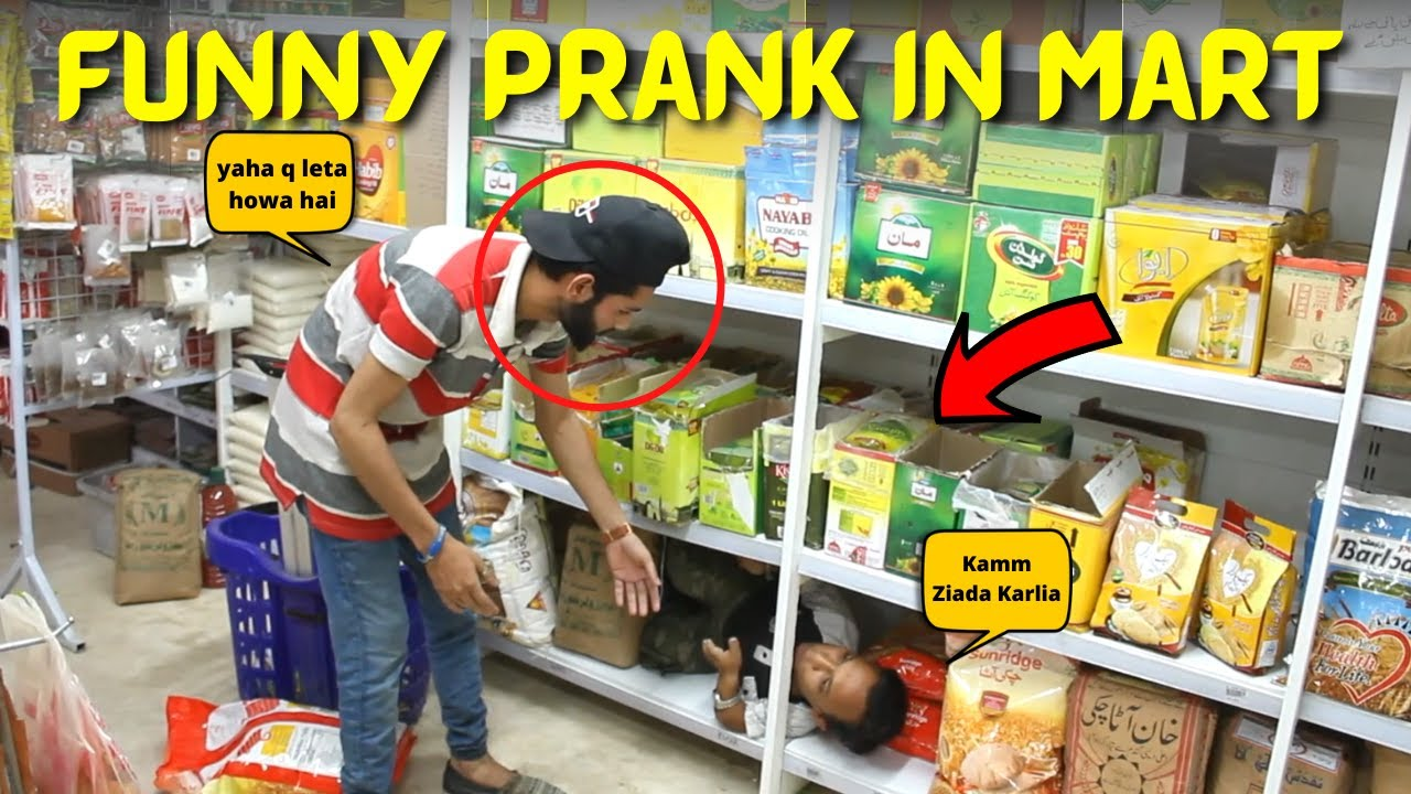 Funny Prank in Mart | New Talent 2021