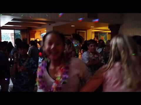 Sixth Grade Luau Dance - Santiago Middle School
