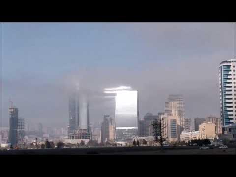 Business Centre Port Baku tries to hypnotize. Бизнес-центр Port Baku пытается загипнотизировать.