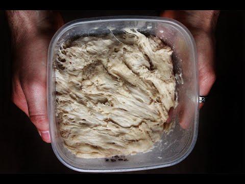 БИГА. Ферментированная закваска для теста. Как приготовить бигу.