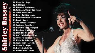 Shirley Bassey Greatest Hits Full Album 2021- Best Songs Of Shirley Bassey