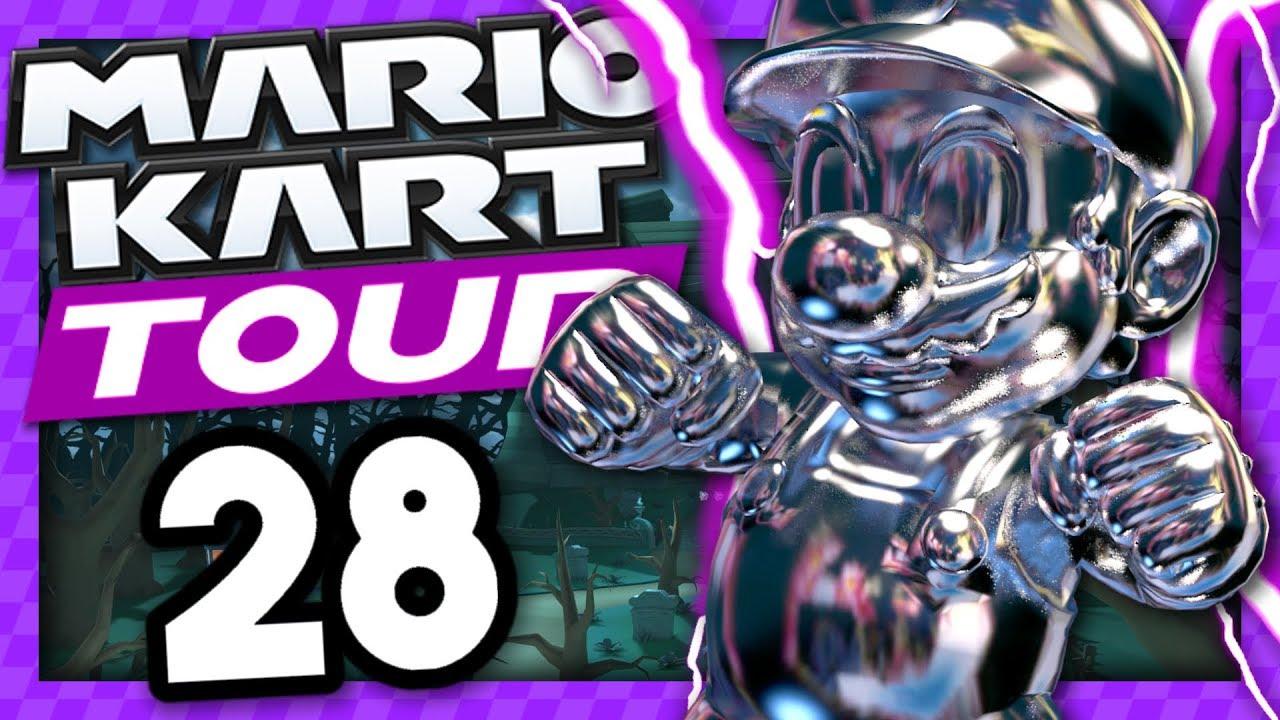 On Finit La Saison Halloween Mario Kart Tour Halloween Episode 28 Fr