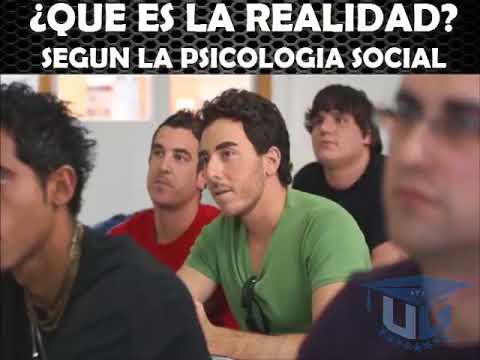 La realidad seg n la psicolog a social youtube for Que es divan en psicologia
