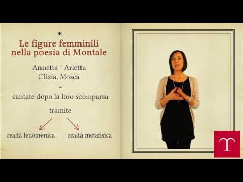 Eugenio Montale - Temi e pensieri