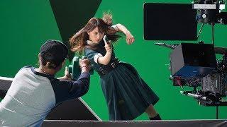 【欅坂46】菅井友香が横っ飛び!新CMメーキング映像、メンバーからのコメントも