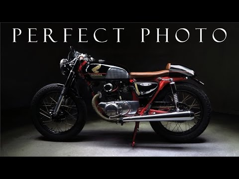 Cafe Racer (Tips to get a great photograph with a Honda CB 125)Part 1