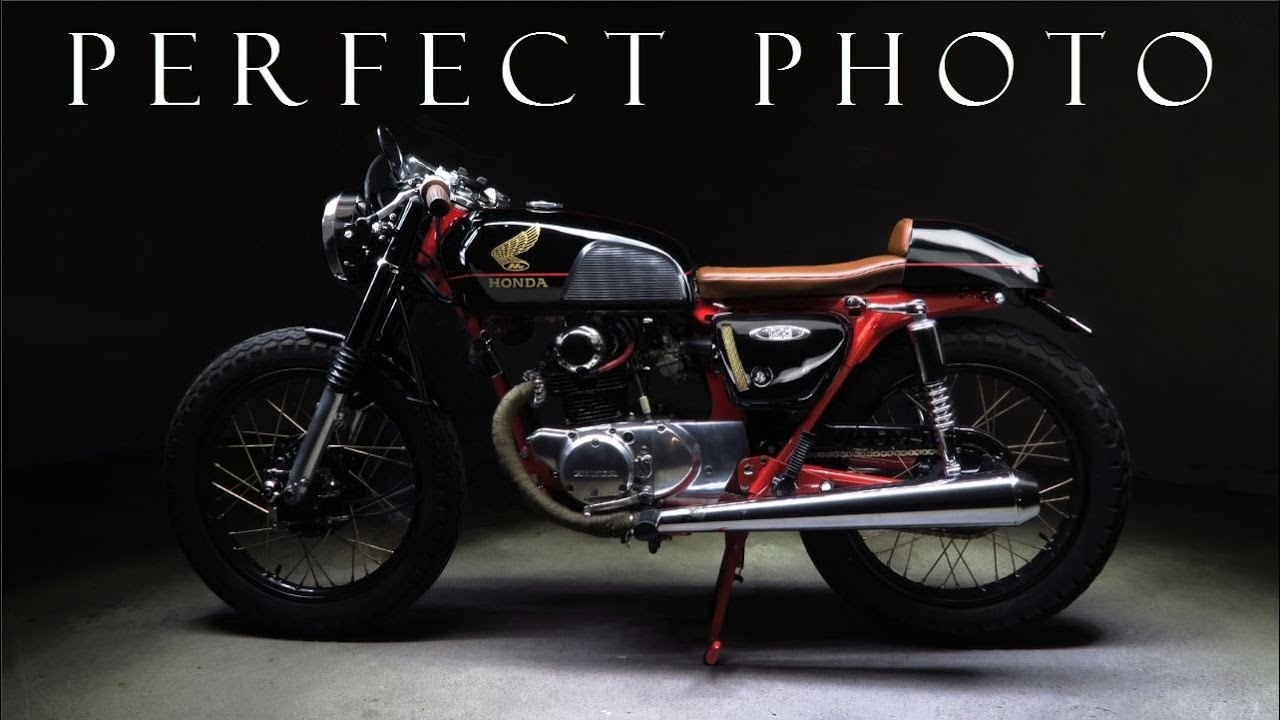Cafe Racer Tips To Get A Great Photograph With Honda CB 125Part 1