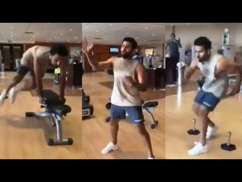 Team India captain Hitman Rohit Sharma Gym Workout before Asia Cup 2018 final match