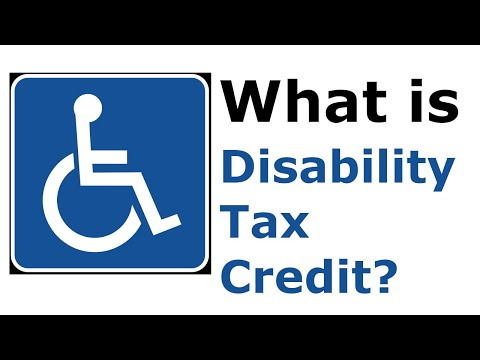 Disability Tax Credit In Canada