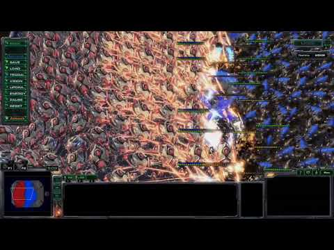 200 COLOSSUS vs 200 ULTRALISKS!! (Starcraft 2 Battle Simulator) |