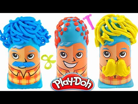Mejores Videos Para Niños – Happy Fathers Day Play Doh Crazy Cuts Family Learning Videos