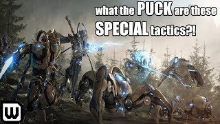 Starcraft 2: What the PUCK are these SPECIAL Tactics?